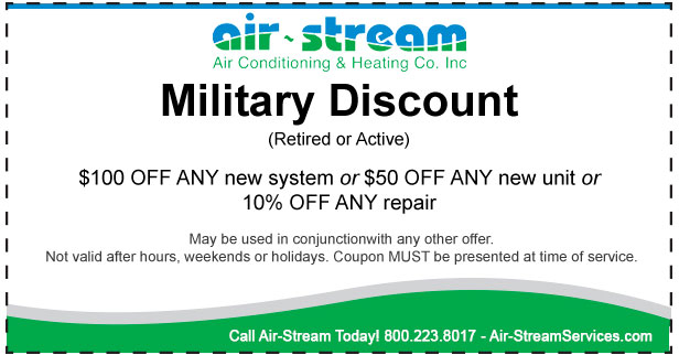air-stream military discount coupon